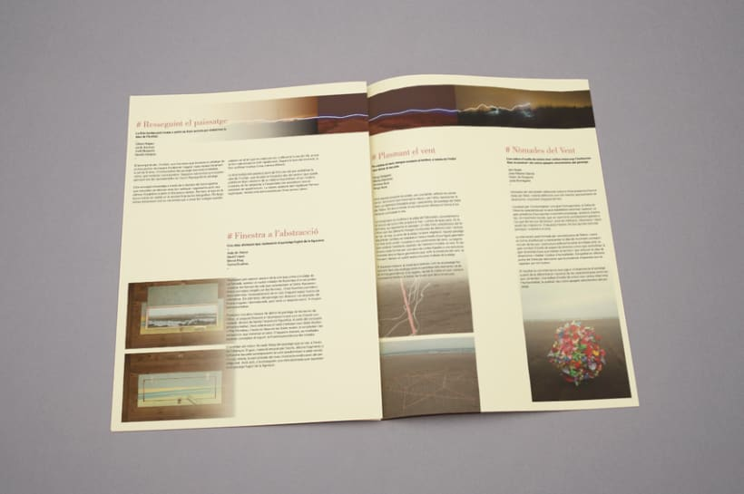 "Proyecto editorial ""El signe a la natura"" 5"