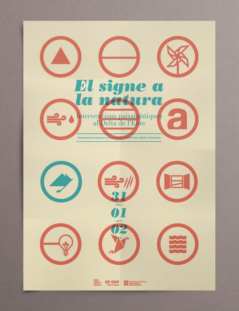 "Proyecto editorial ""El signe a la natura"" 8"