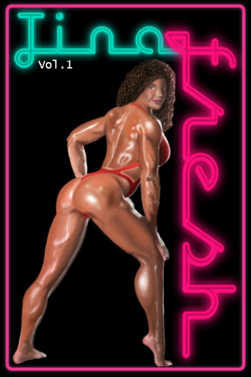 Ilustración. Portada Cassette Tina Fresh -1