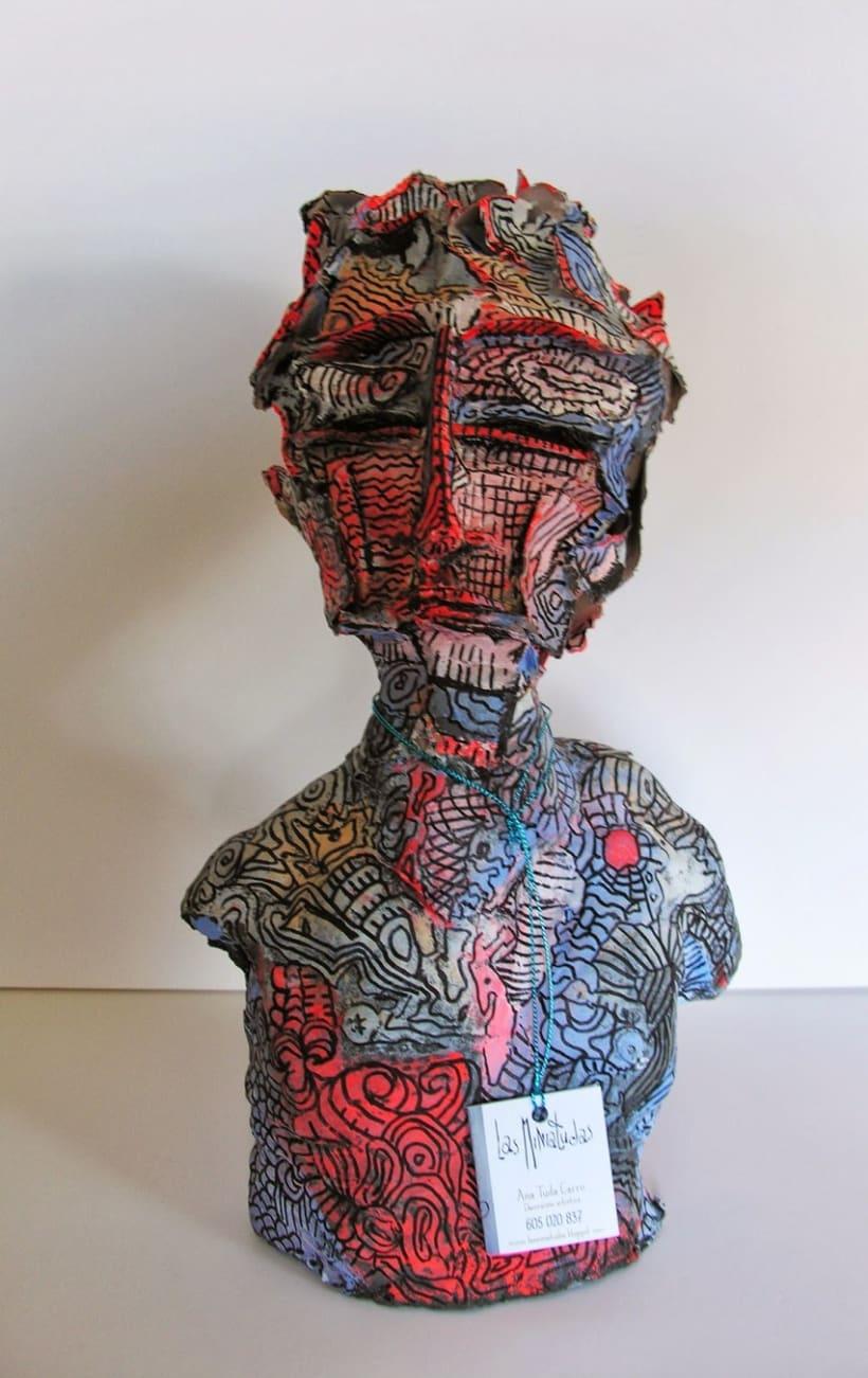 Escultura busto -1