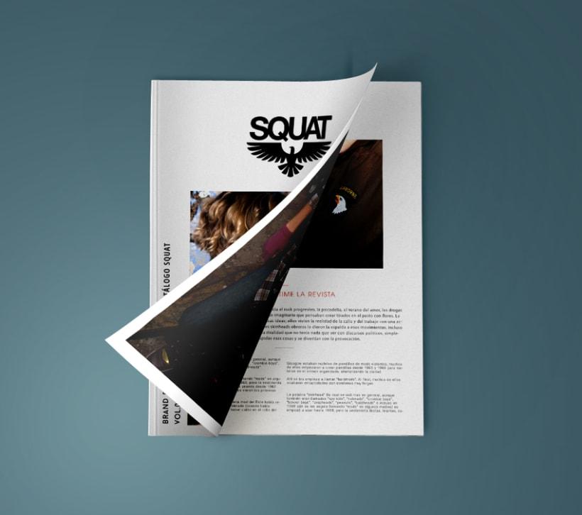 Logotype fashion brand and magazine 1