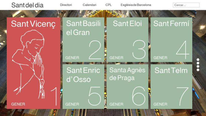WEB LAYOUT - Calendario Santoral 2