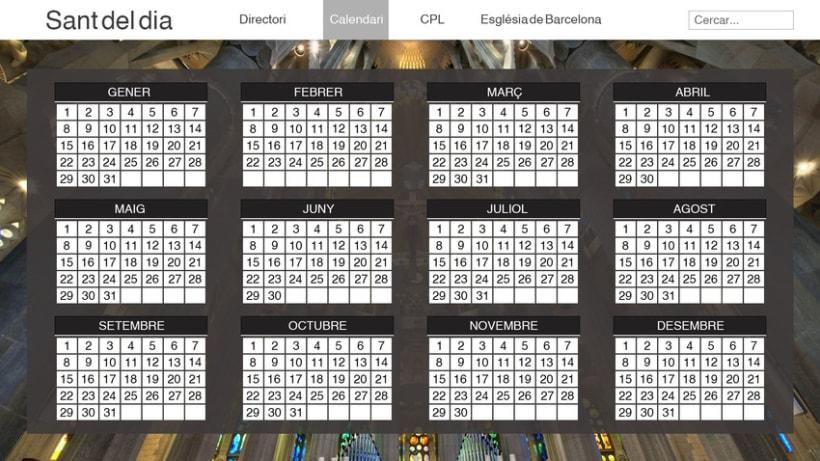 WEB LAYOUT - Calendario Santoral 6
