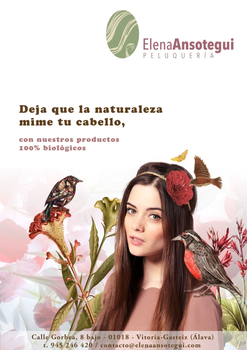 Peluquería Elena Ansotegui - Imagen corporativa 3