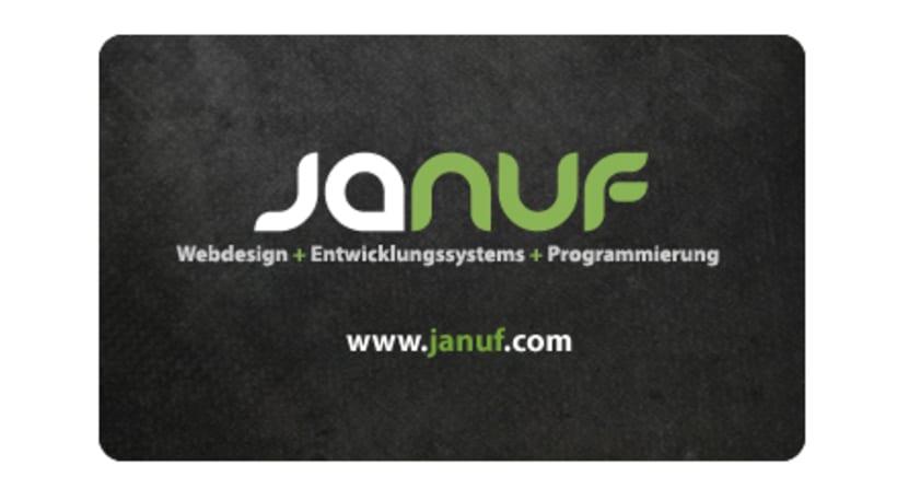 Web y Papelería Januf Designs 1
