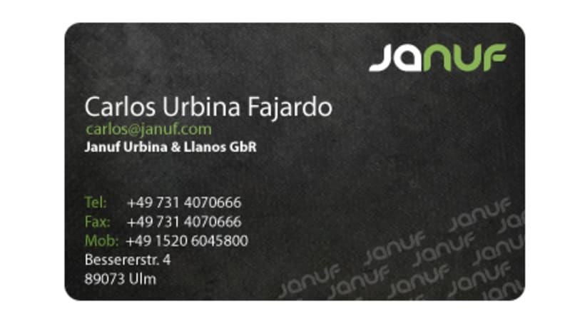 Web y Papelería Januf Designs 2