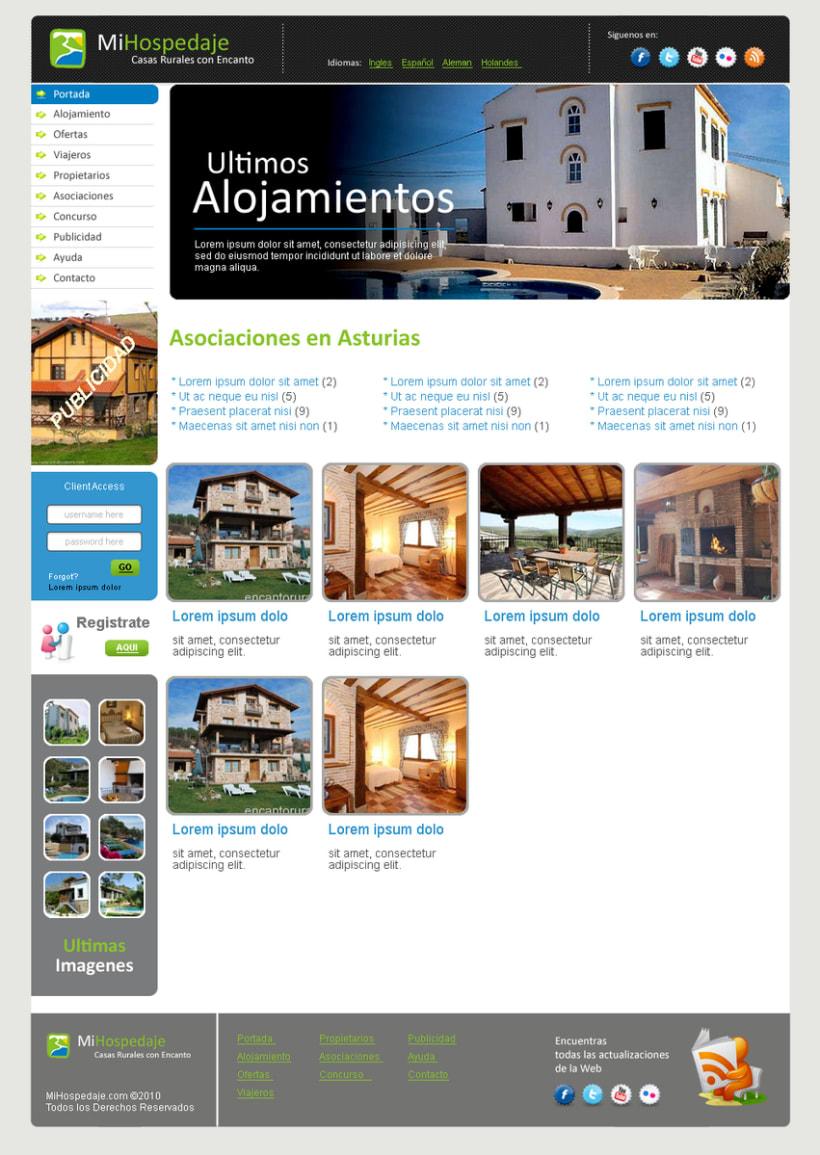 Sitio web Mi Hospedaje 7