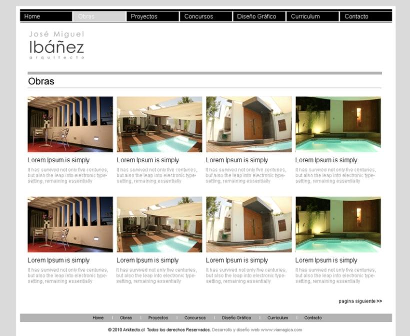Sitio web Arkitecto 0