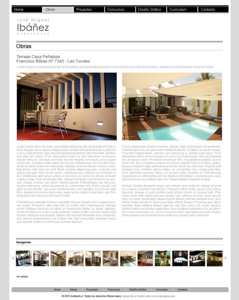Sitio web Arkitecto 1