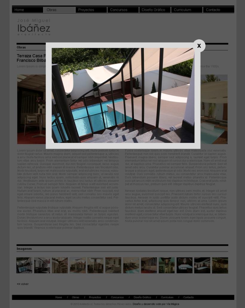 Sitio web Arkitecto 2