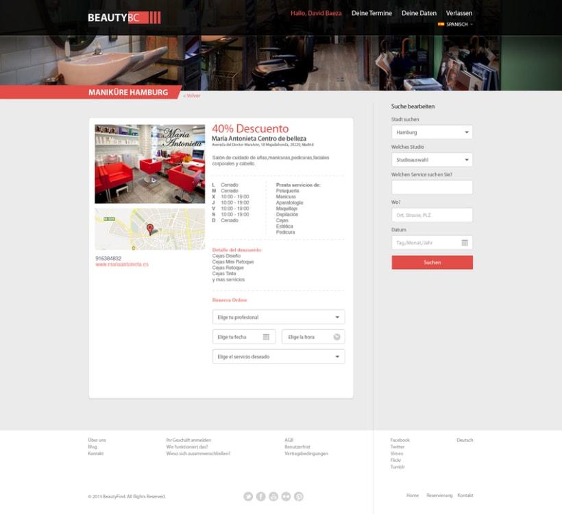 Diseño Web BeautyBC 0