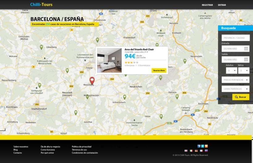 Diseño Web Chilli-Tours 0