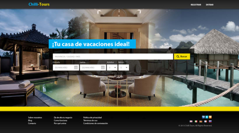 Diseño Web Chilli-Tours 1
