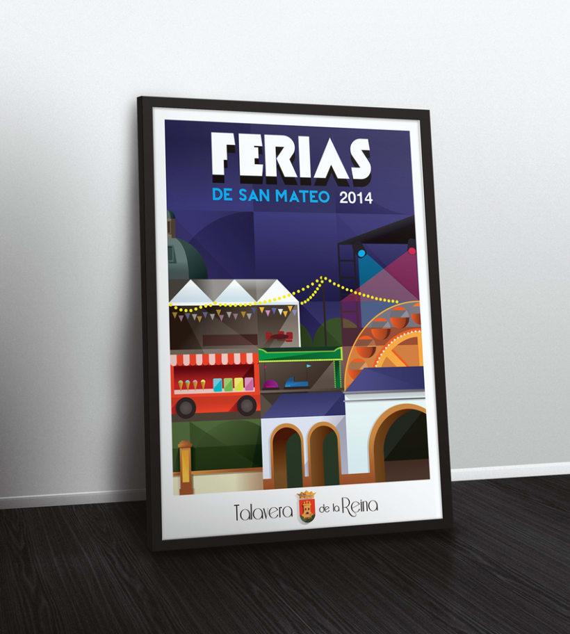 Cartel Ferias de S. Mateo 2014  6