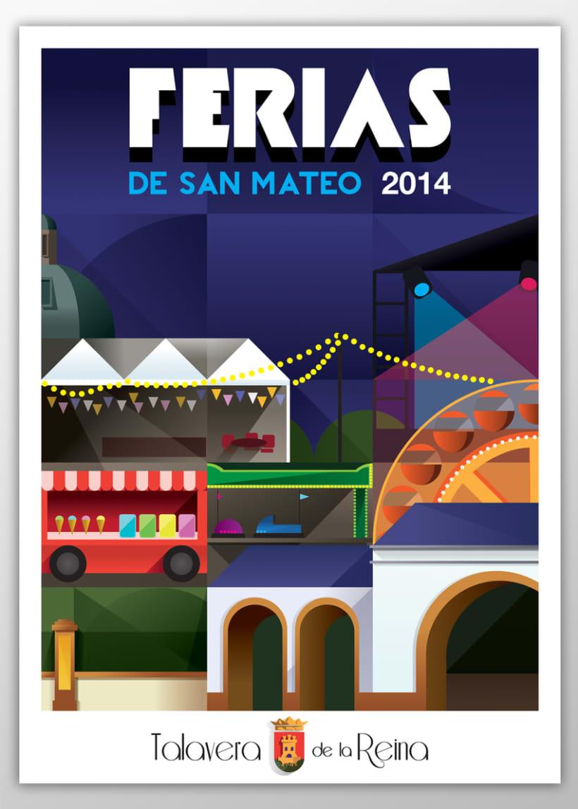Cartel Ferias de S. Mateo 2014  0