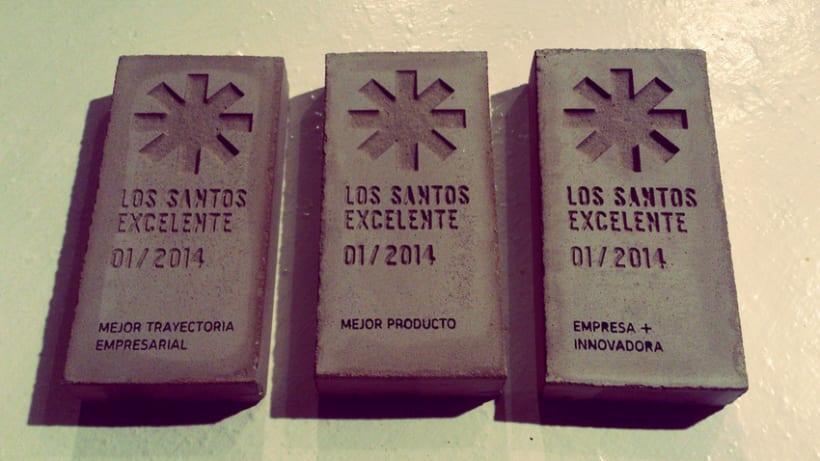 Distintivo Los Santos Excelente 4