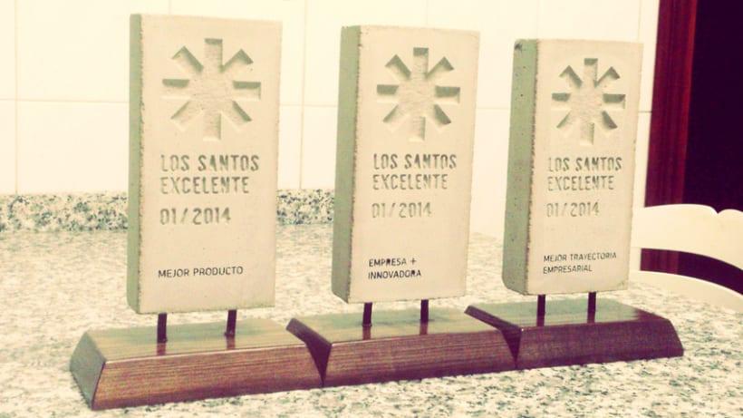 Distintivo Los Santos Excelente 5