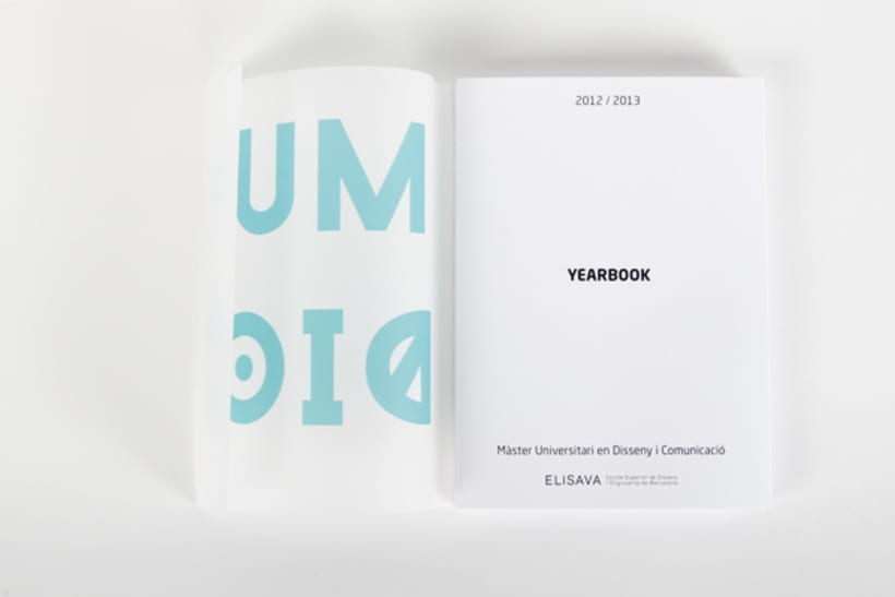 Editorial Design - Yearbook Elisava - 12/13 3