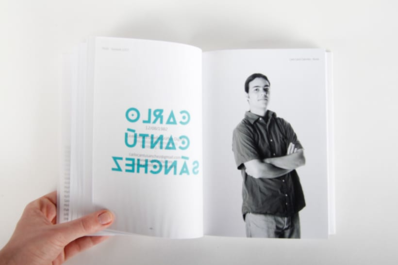 Editorial Design - Yearbook Elisava - 12/13 9