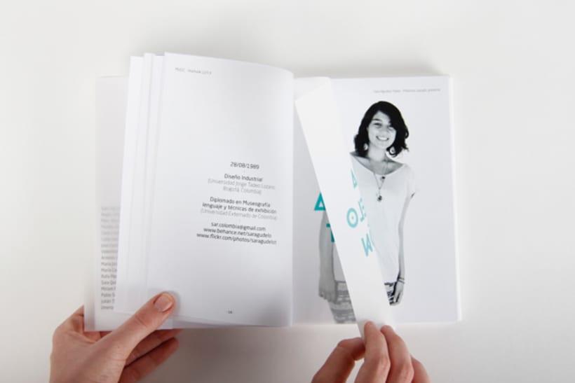 Editorial Design - Yearbook Elisava - 12/13 13