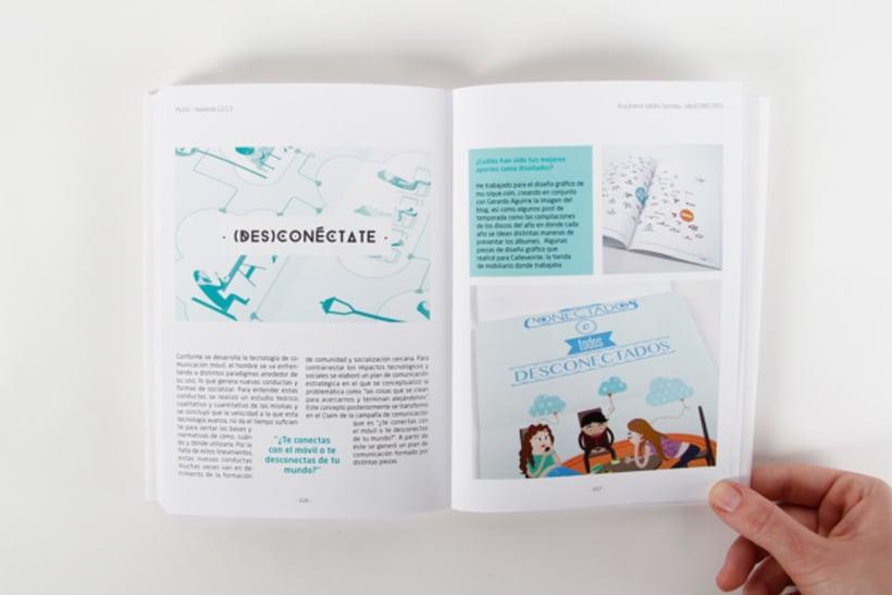 Editorial Design - Yearbook Elisava - 12/13 15