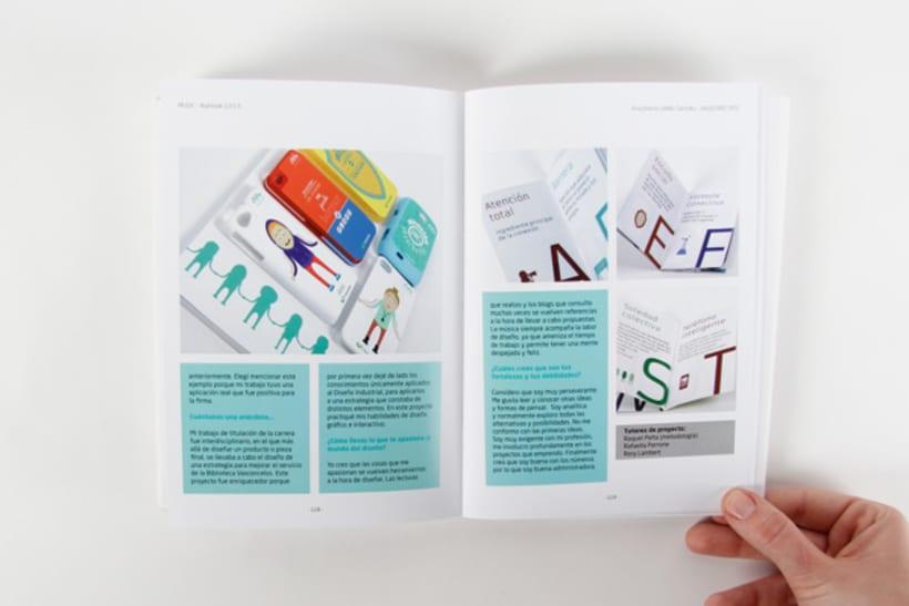 Editorial Design - Yearbook Elisava - 12/13 16