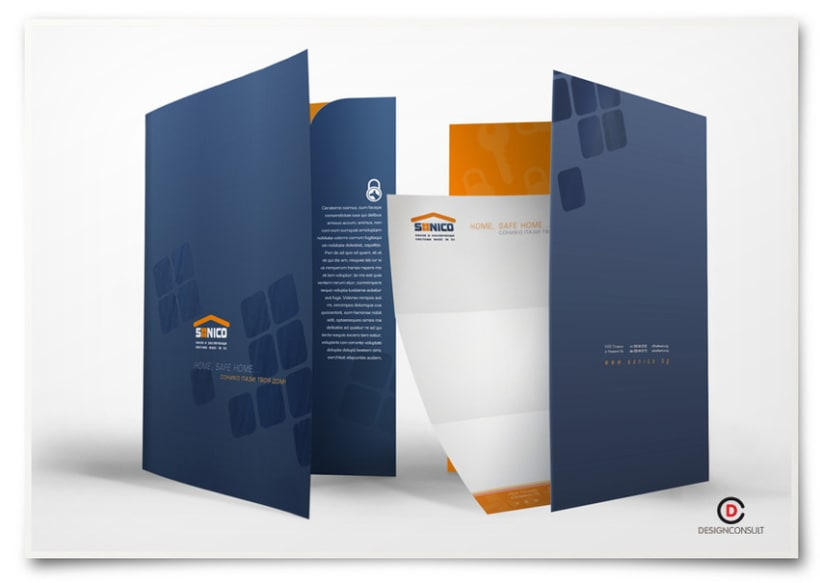 Sonico corporate identity, advertising campaign and packaging 3