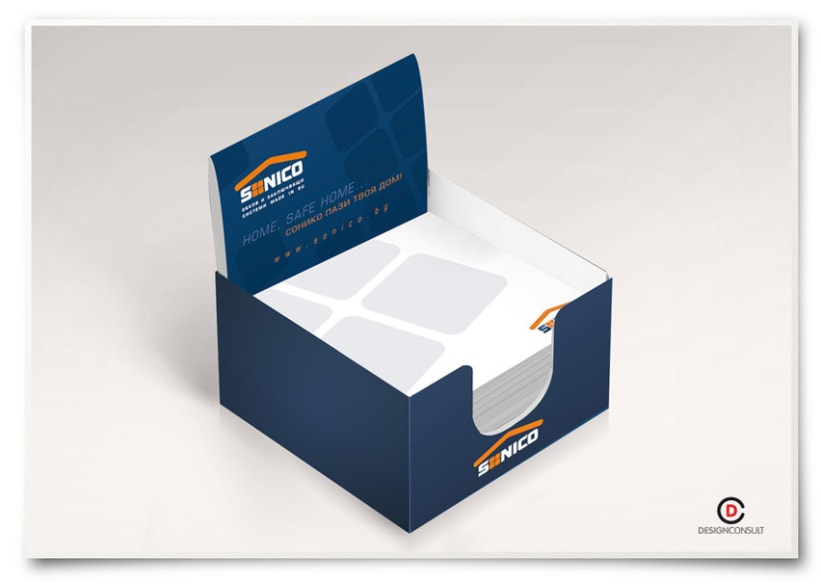 Sonico corporate identity, advertising campaign and packaging 7