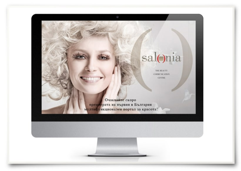 Salonia brand identity and web development 9