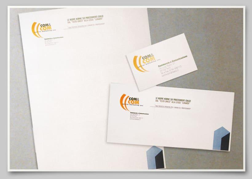 Com&Com brand identity 0