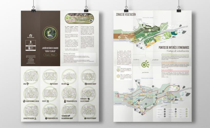 Visual Identity - Jardín Botánico Viera y Clavijo 10