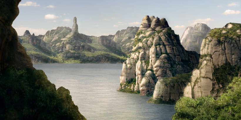 Matte painting -1