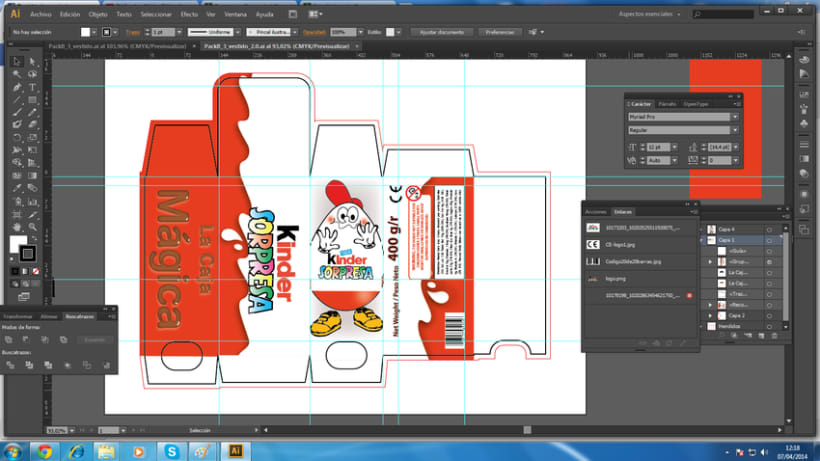 Packaging: Caja de magia de Kinder Sorpresa - https://www.youtube.com/watch?v=BfxA7CWA3Nc  -1