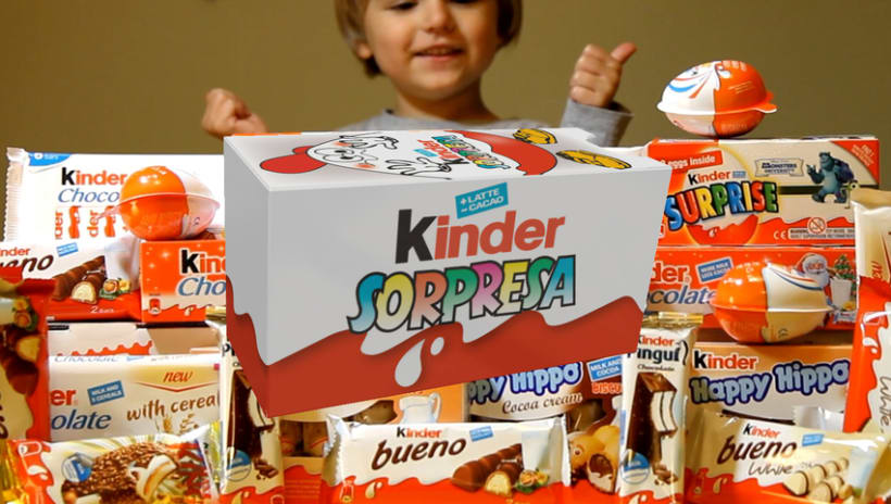 Packaging: Caja de magia de Kinder Sorpresa - https://www.youtube.com/watch?v=BfxA7CWA3Nc  0