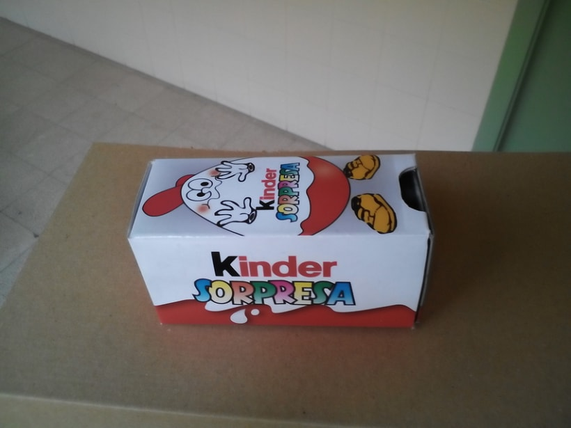 Packaging: Caja de magia de Kinder Sorpresa - https://www.youtube.com/watch?v=BfxA7CWA3Nc  2