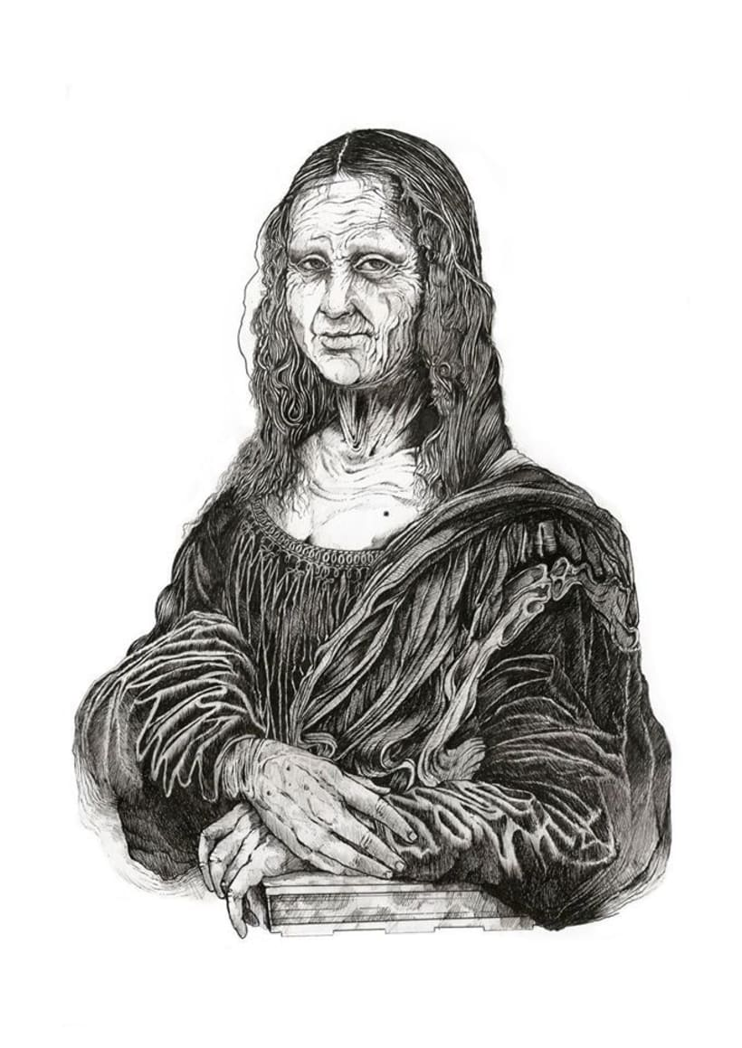 Gioconda Project: Grandma Lisa 7
