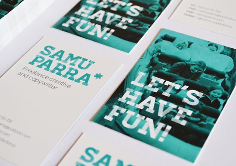 Branding personal Samu Parra 0