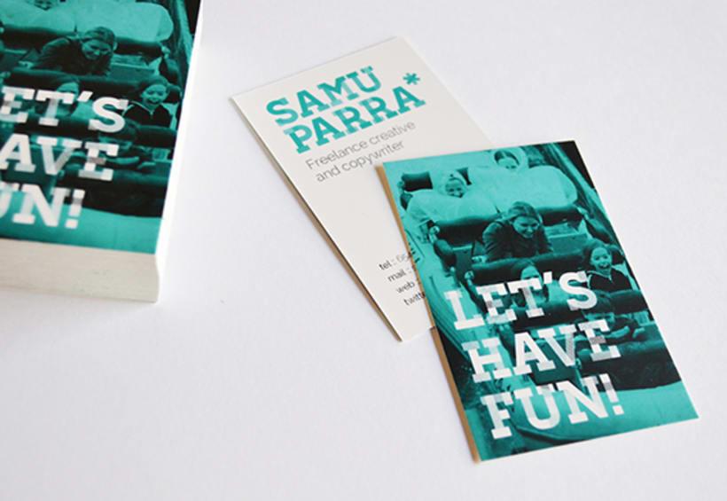 Branding personal Samu Parra 1