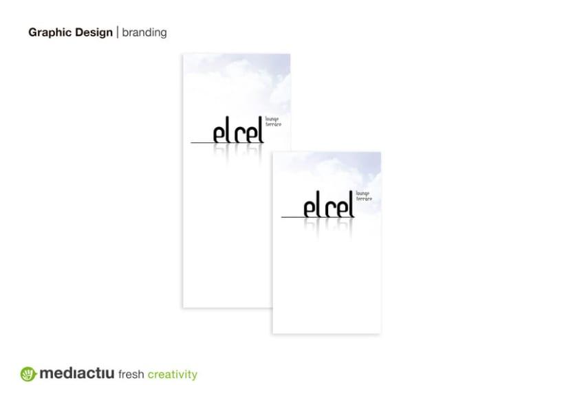 El Cel, branding 1