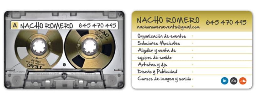 Tarjetas NACHO ROMERO 0