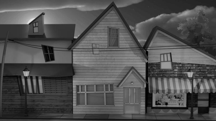 My little town. 3D 0