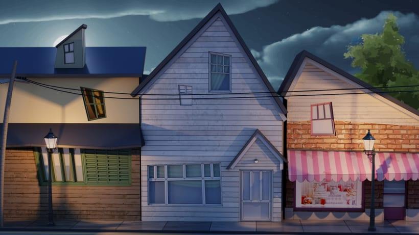 My little town. 3D 1