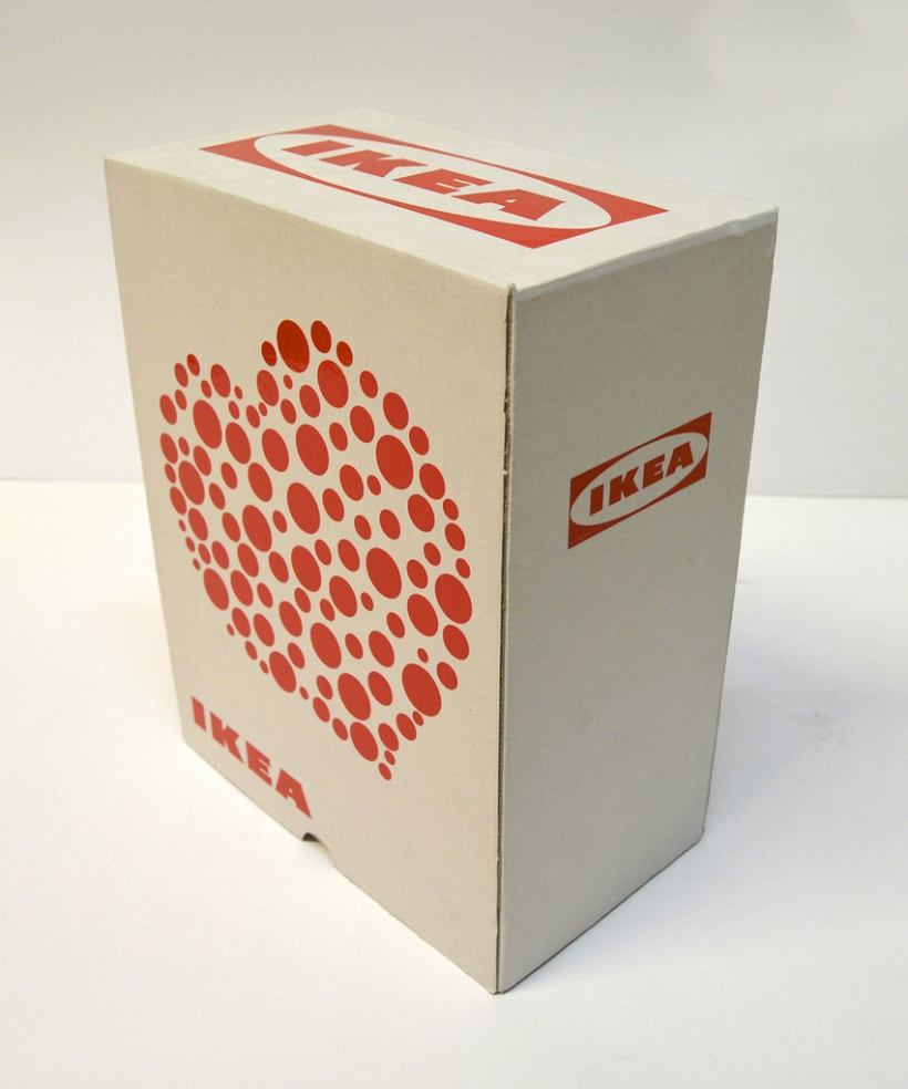 "Packaging: diseño de pack de copas resistente a golpes (San Valentín). Premio Liderpack 2014: Al mejor pack obra de estudiante ""Diseño Joven"" 1"