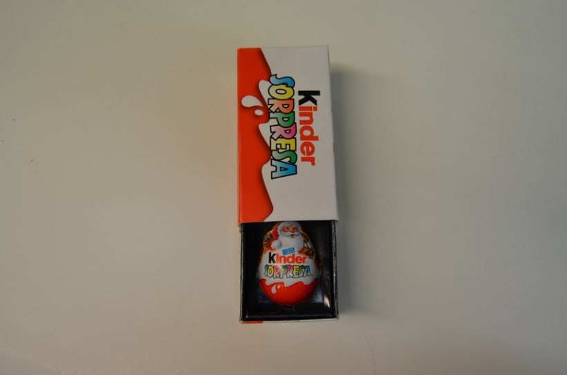 Packaging: Caja de magia de Kinder Sorpresa - https://www.youtube.com/watch?v=BfxA7CWA3Nc  6