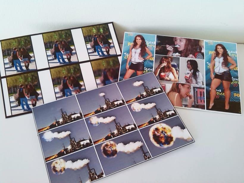 Sostenibilidad: Postales, ilustración, edición, mensaje. 3