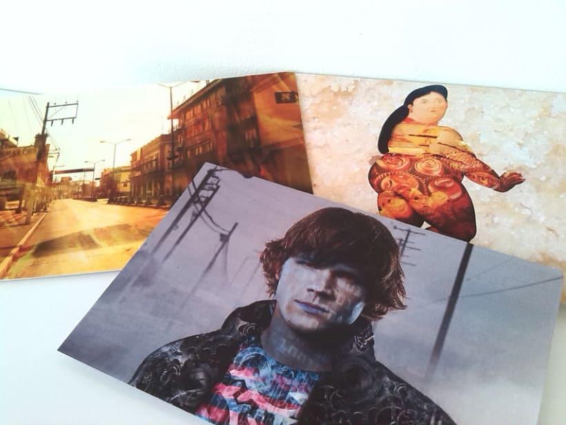 Sostenibilidad: Postales, ilustración, edición, mensaje. 5