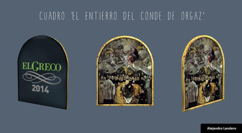 El Greco 2014 - Sello Correos R.A. El Greco 2