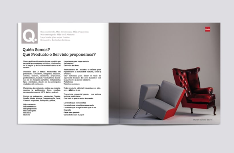 Rediseño Revista Play. Brochure 2