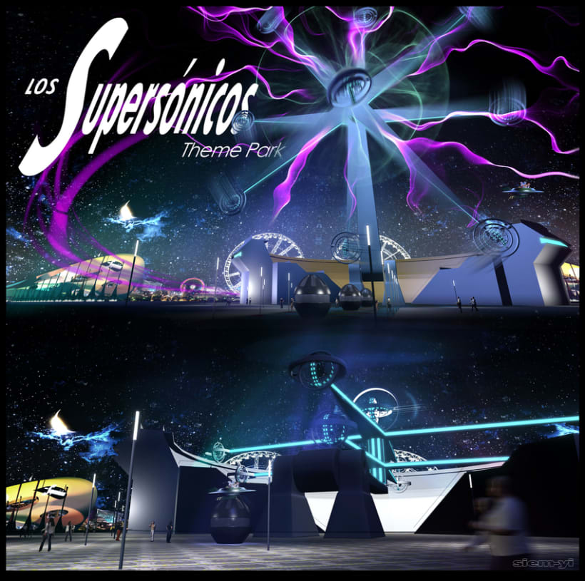 Los Supersónicos - Theme Park -  IMSN30 / 8130 20