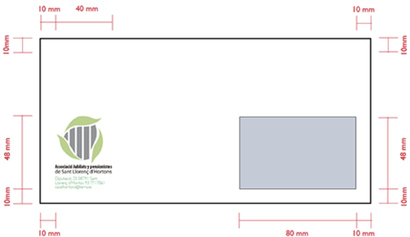 Identidad Corporativa: Asociación jubilados 13